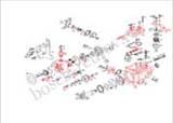 Схема топливного насоса Фольксваген Транспортёр 2.4D